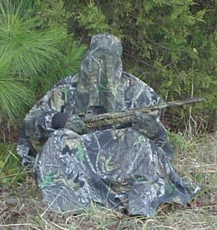 Camouflage body blind