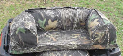 Camouflage and Black Custom Fitted Atv Seat Covers, Atv Accessories